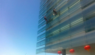 Window Cleaning Services Building And House Washing High Glass